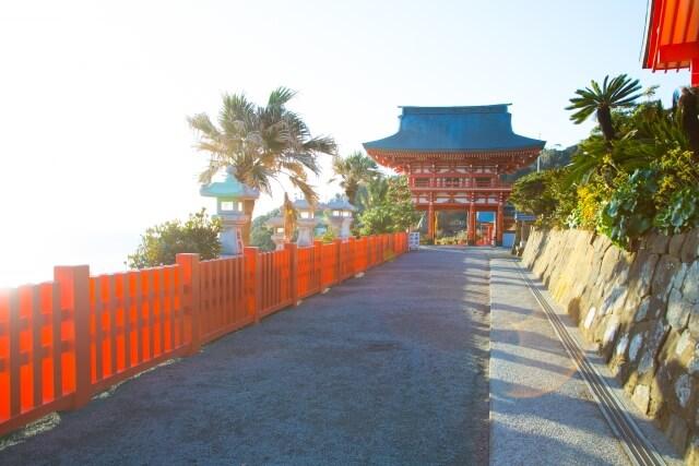 宮崎県鵜戸神宮初詣の参考画像