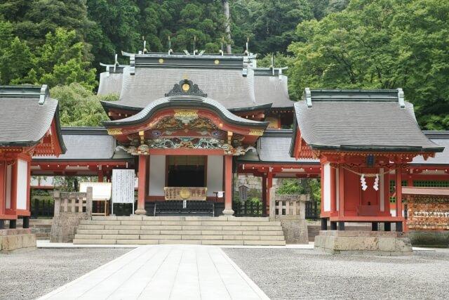 霧島神宮の初詣参考画像