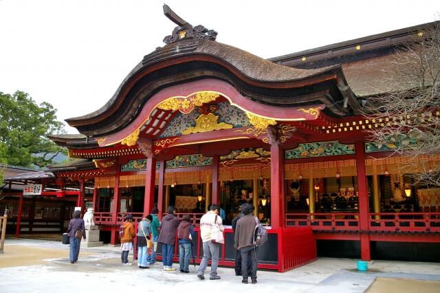 太宰府天満宮の初詣の参考画像