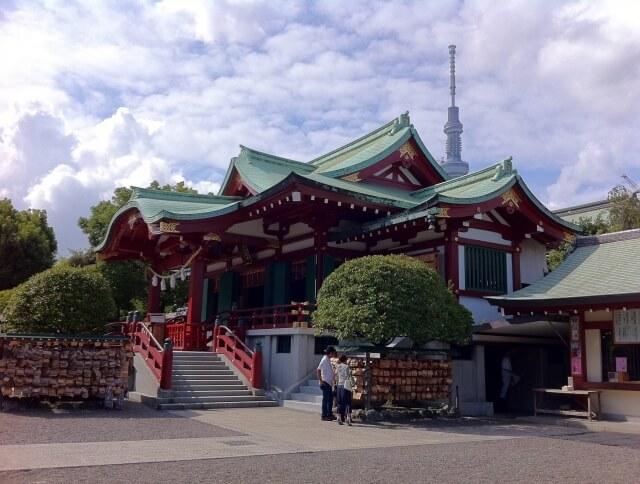 亀戸天神社初詣の参考画像