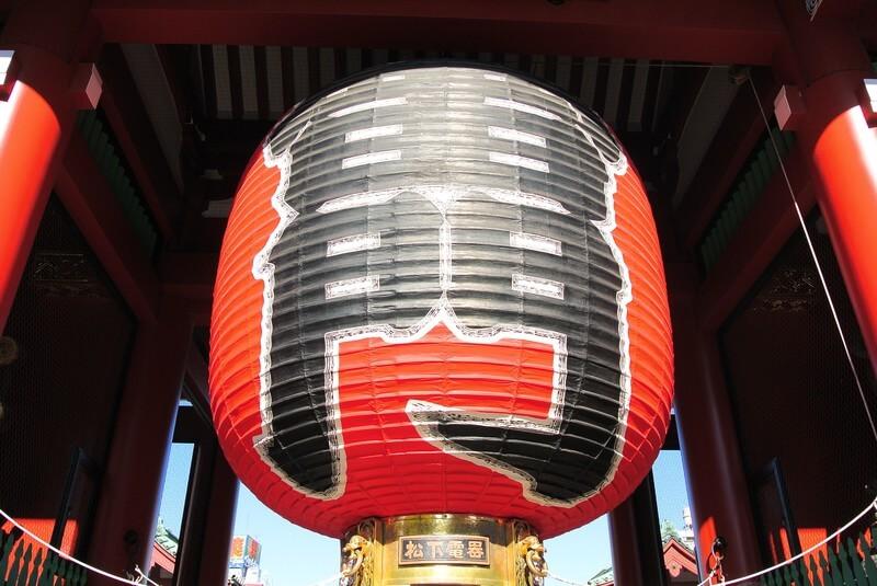 浅草寺初詣の参考画像