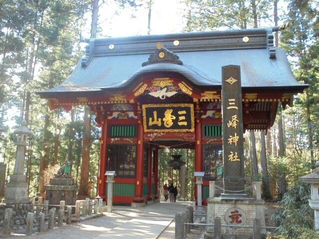 三峯神社初詣の参考画像