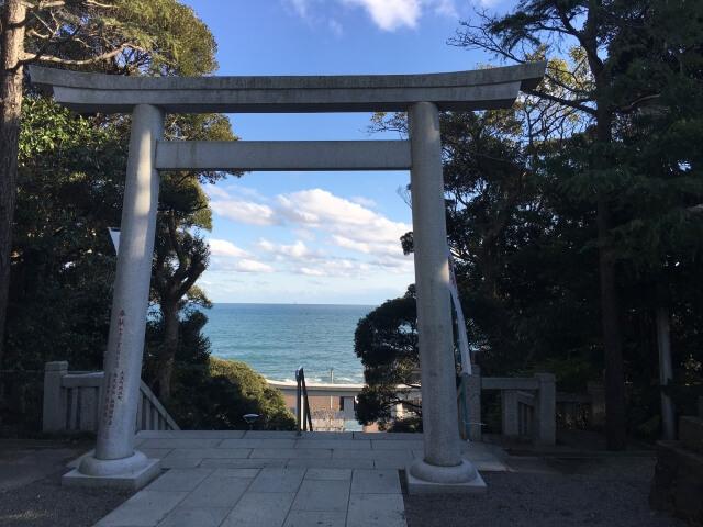 大洗磯前神社初詣の参考画像