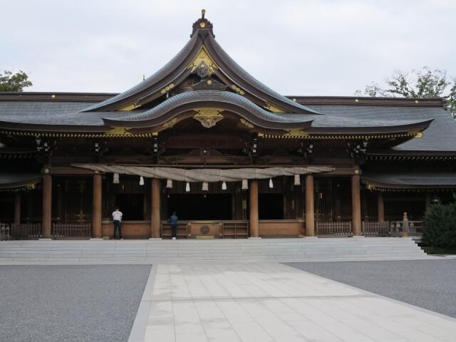 寒川神社初詣の参考画像