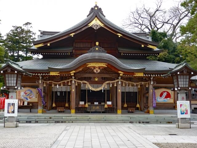 竹駒神社初詣の参考画像