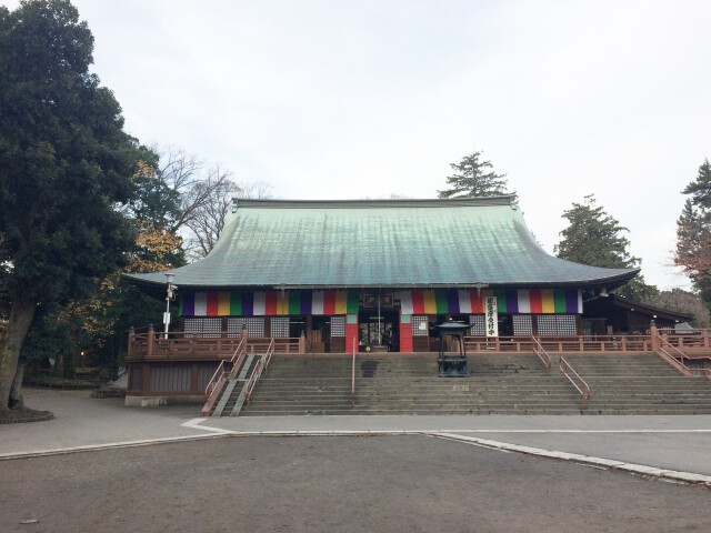 喜多院初詣の参考画像