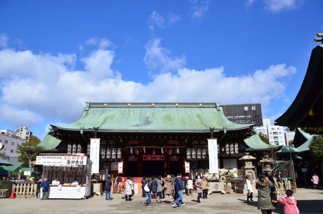 大阪天満宮初詣の参考画像