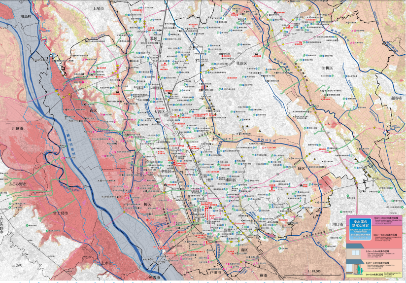 荒川ハザードマップ
