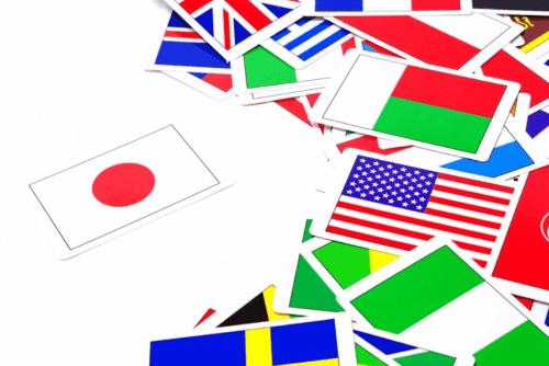 日本地図世界